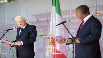 5 - Mattarella in Angola accolto dal presidente João Lourenço