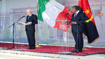 4 - Mattarella in Angola accolto dal presidente João Lourenço