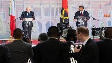 3 - Mattarella in Angola accolto dal presidente João Lourenço