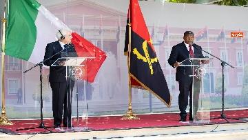1 - Mattarella in Angola accolto dal presidente João Lourenço