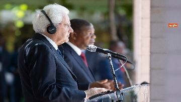 2 - Mattarella in Angola accolto dal presidente João Lourenço