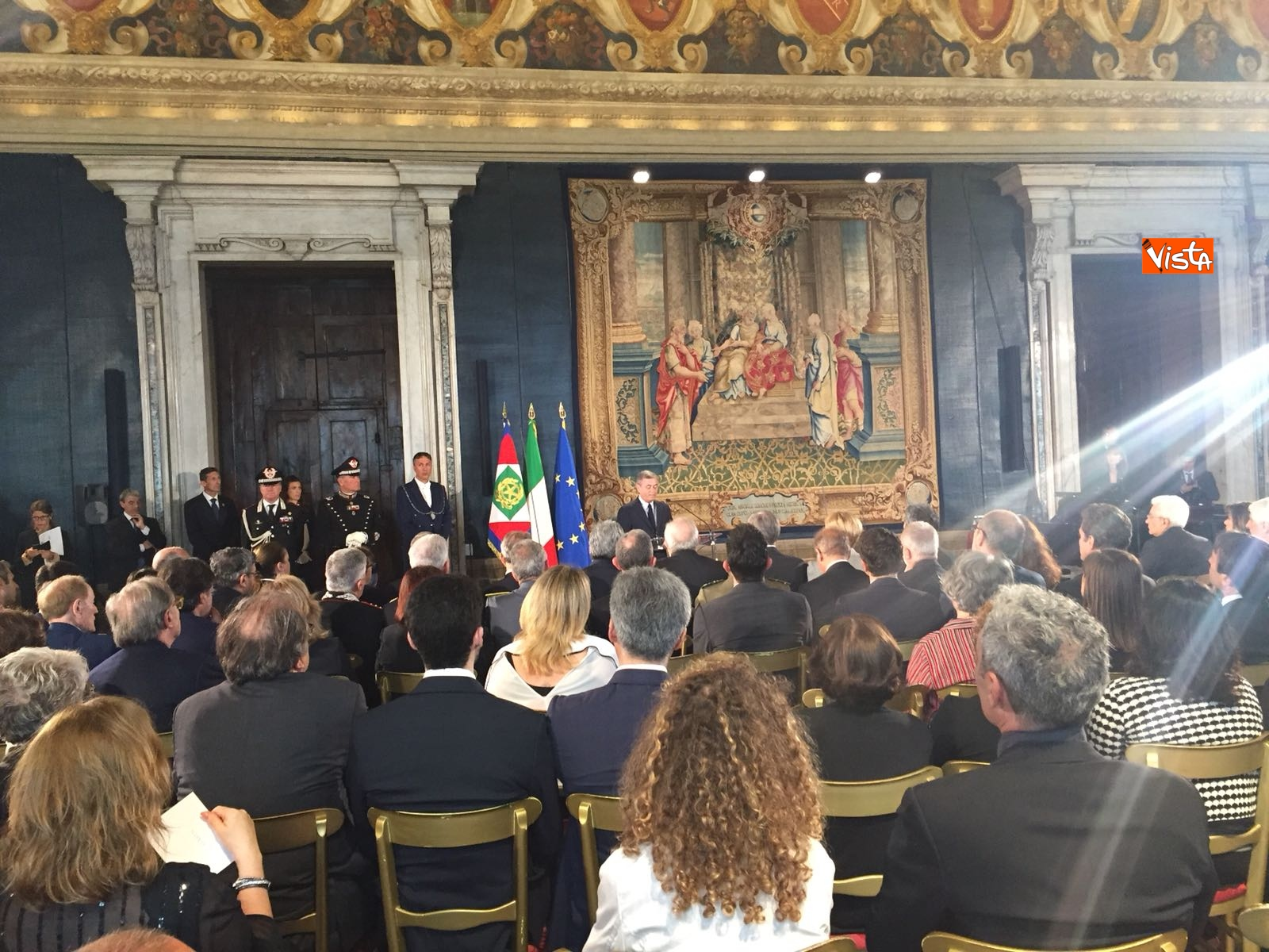 09-05-18 Cerimonia in memoria delle vittime del terrorismo al Quirinale, le immagini_10