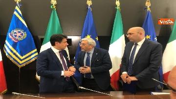 8 - La conferenza stampa di fine anno del presidente del Consiglio Giuseppe Conte