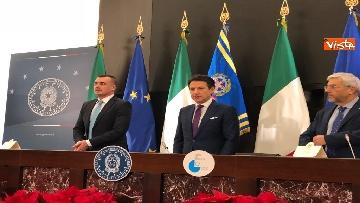13 - La conferenza stampa di fine anno del presidente del Consiglio Giuseppe Conte
