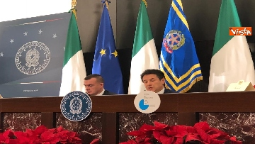 7 - La conferenza stampa di fine anno del presidente del Consiglio Giuseppe Conte
