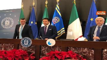 12 - La conferenza stampa di fine anno del presidente del Consiglio Giuseppe Conte