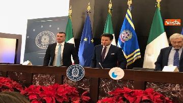 11 - La conferenza stampa di fine anno del presidente del Consiglio Giuseppe Conte