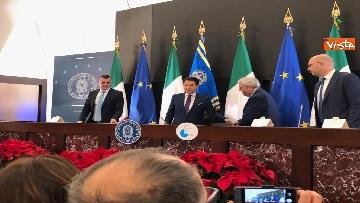 14 - La conferenza stampa di fine anno del presidente del Consiglio Giuseppe Conte
