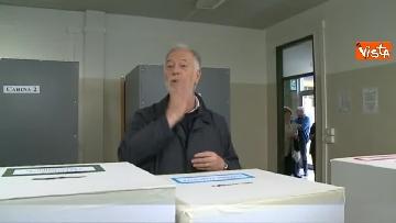 7 - Comunali Firenze, il voto del candidato sindaco di centrodestra Bocci