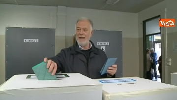 6 - Comunali Firenze, il voto del candidato sindaco di centrodestra Bocci
