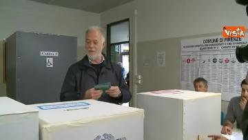 5 - Comunali Firenze, il voto del candidato sindaco di centrodestra Bocci