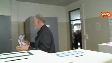 3 - Comunali Firenze, il voto del candidato sindaco di centrodestra Bocci