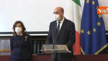 6 - L'incontro per gli auguri di Natale tra la Presidente del Senato Casellati e la stampa parlamentare