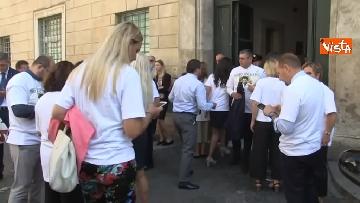 1 - #IoStoConSalvini, senatori Lega in piazza per esprimere solidarietà a ministro dell'Interno