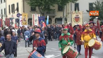 2 - Camusso, Furlan, Barbagallo alla manifestazione del primo maggio a Prato. Presente Martina