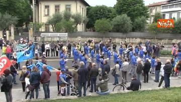 6 - Camusso, Furlan, Barbagallo alla manifestazione del primo maggio a Prato. Presente Martina