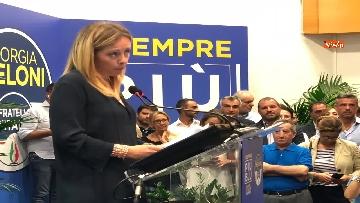 10 - 'E' sempre più blu, Meloni ufficializza entrata a FdI del sindaco di Catania