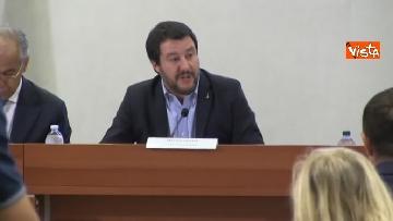 3 - Salvini presenta l'iniziativa Scuole sicure immagini