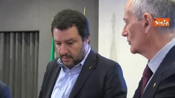 7 - Salvini presenta l'iniziativa Scuole sicure immagini