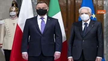 4 - Mattarella incontra il Presidente della Repubblica di Polonia Andrzej Duda