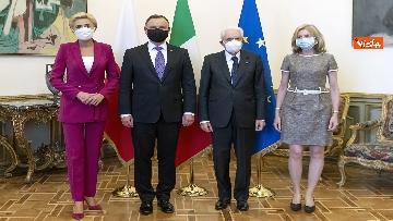 10 - Mattarella incontra il Presidente della Repubblica di Polonia Andrzej Duda
