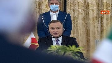 8 - Mattarella incontra il Presidente della Repubblica di Polonia Andrzej Duda