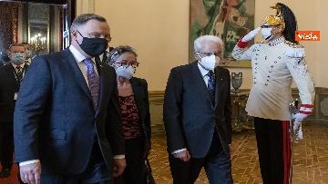6 - Mattarella incontra il Presidente della Repubblica di Polonia Andrzej Duda