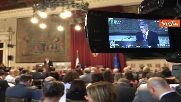 7 - Inail, la presentazione del rapporto alla Camera con Conte e Fico  immagini