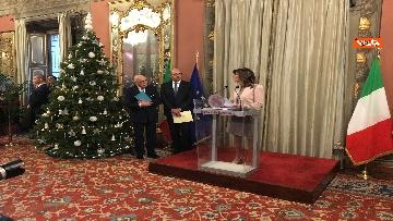 9 - Casellati incontra l'Associazione stampa parlamentare per auguri di Natale
