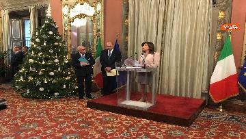 8 - Casellati incontra l'Associazione stampa parlamentare per auguri di Natale