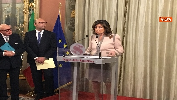 10 - Casellati incontra l'Associazione stampa parlamentare per auguri di Natale