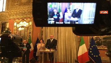 4 - Casellati incontra l'Associazione stampa parlamentare per auguri di Natale