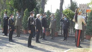 4 - Mattarella al 77° anniversario Difesa di Roma, l'omaggio ai caduti al Parco della Resistenza. Le foto