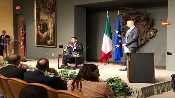 6 - 30-07-18 Conte in conferenza con la stampa italiana dopo incontro con Trump