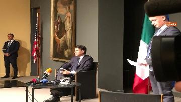 5 - 30-07-18 Conte in conferenza con la stampa italiana dopo incontro con Trump