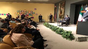 3 - 30-07-18 Conte in conferenza con la stampa italiana dopo incontro con Trump