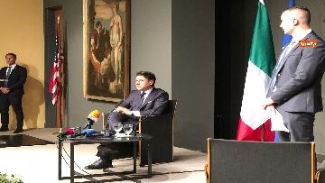 2 - 30-07-18 Conte in conferenza con la stampa italiana dopo incontro con Trump