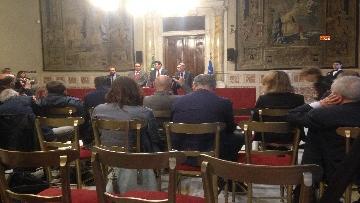 10 - 24-05-18 Consultazioni, la delegazione del Pd con Martina, Orfini, Marcucci, Delrio