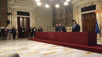 11 - 24-05-18 Consultazioni, la delegazione della Lega con Salvini, Giorgetti, Centinaio