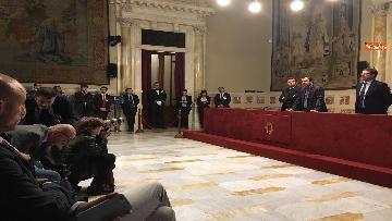 10 - 24-05-18 Consultazioni, la delegazione della Lega con Salvini, Giorgetti, Centinaio