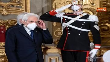 2 - Crisi, Mattarella: