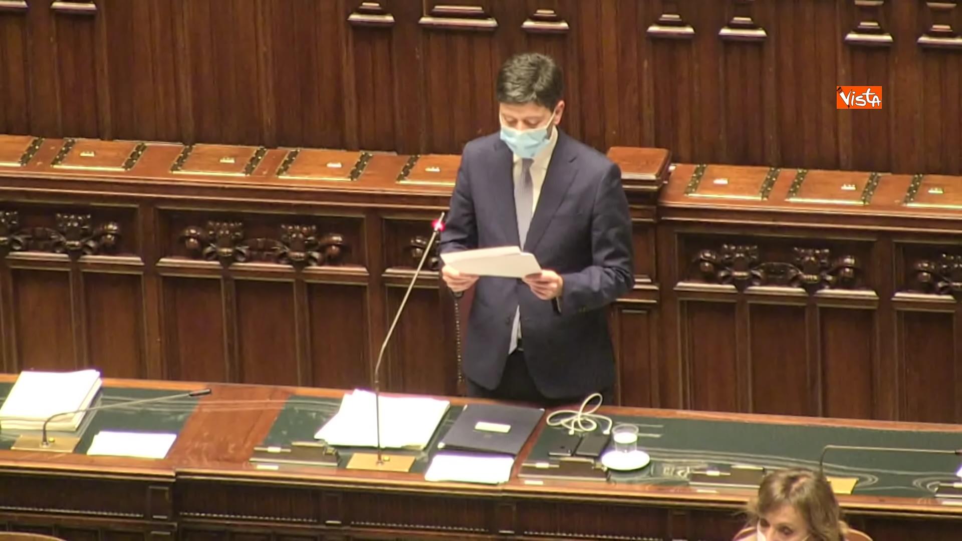 02-12-20 Il ministro Speranza riferisce alla Camera su piano vaccini e nuovo Dpcm, le foto_09