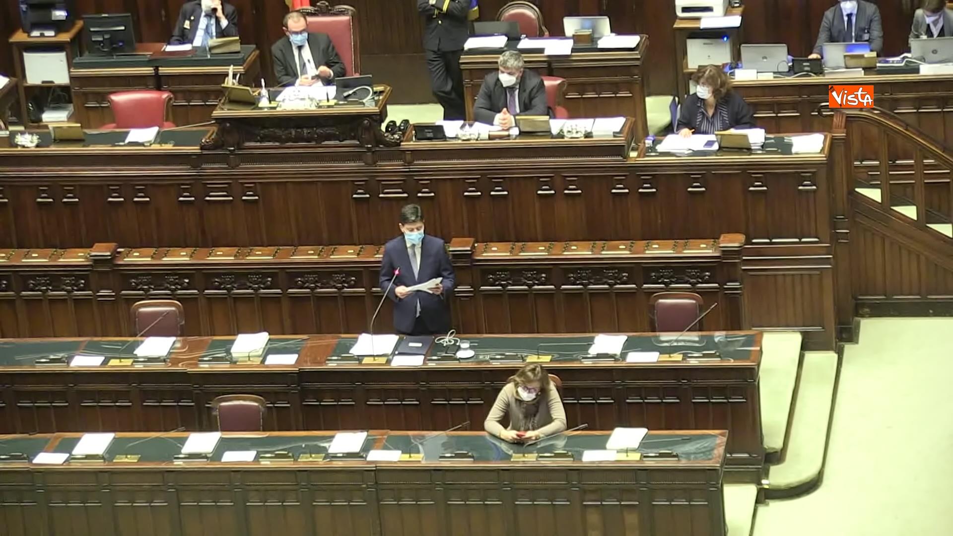 02-12-20 Il ministro Speranza riferisce alla Camera su piano vaccini e nuovo Dpcm, le foto_10