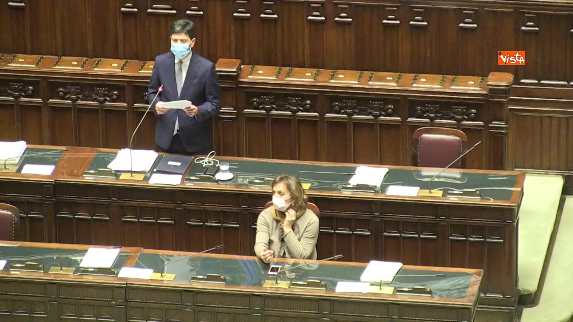 02-12-20 Il ministro Speranza riferisce alla Camera su piano vaccini e nuovo Dpcm, le foto_06