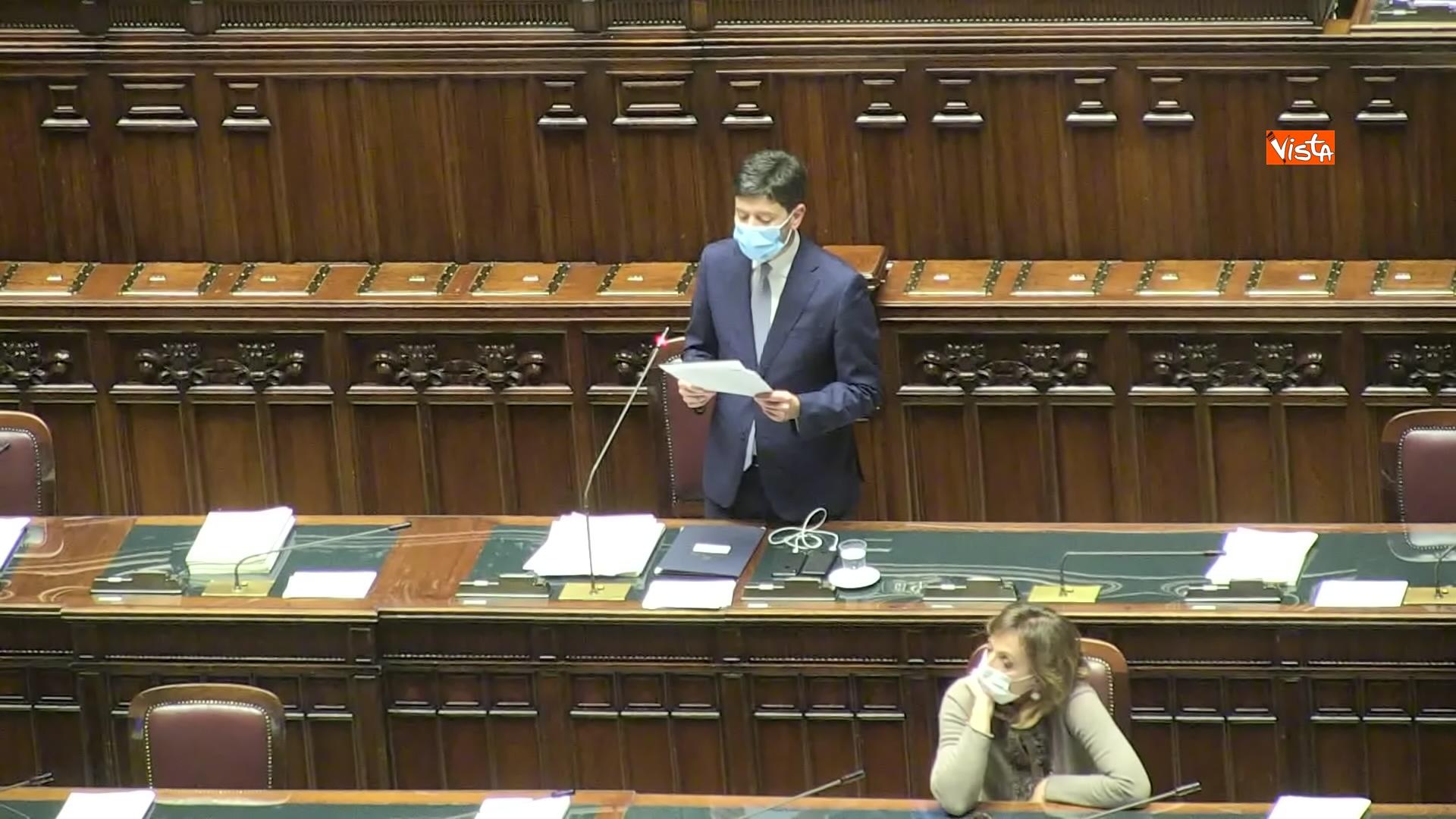 02-12-20 Il ministro Speranza riferisce alla Camera su piano vaccini e nuovo Dpcm, le foto_03