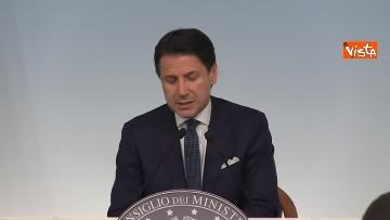 6 - Crisi di Governo, Conte in conferenza stampa immagini