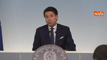 7 - Crisi di Governo, Conte in conferenza stampa immagini