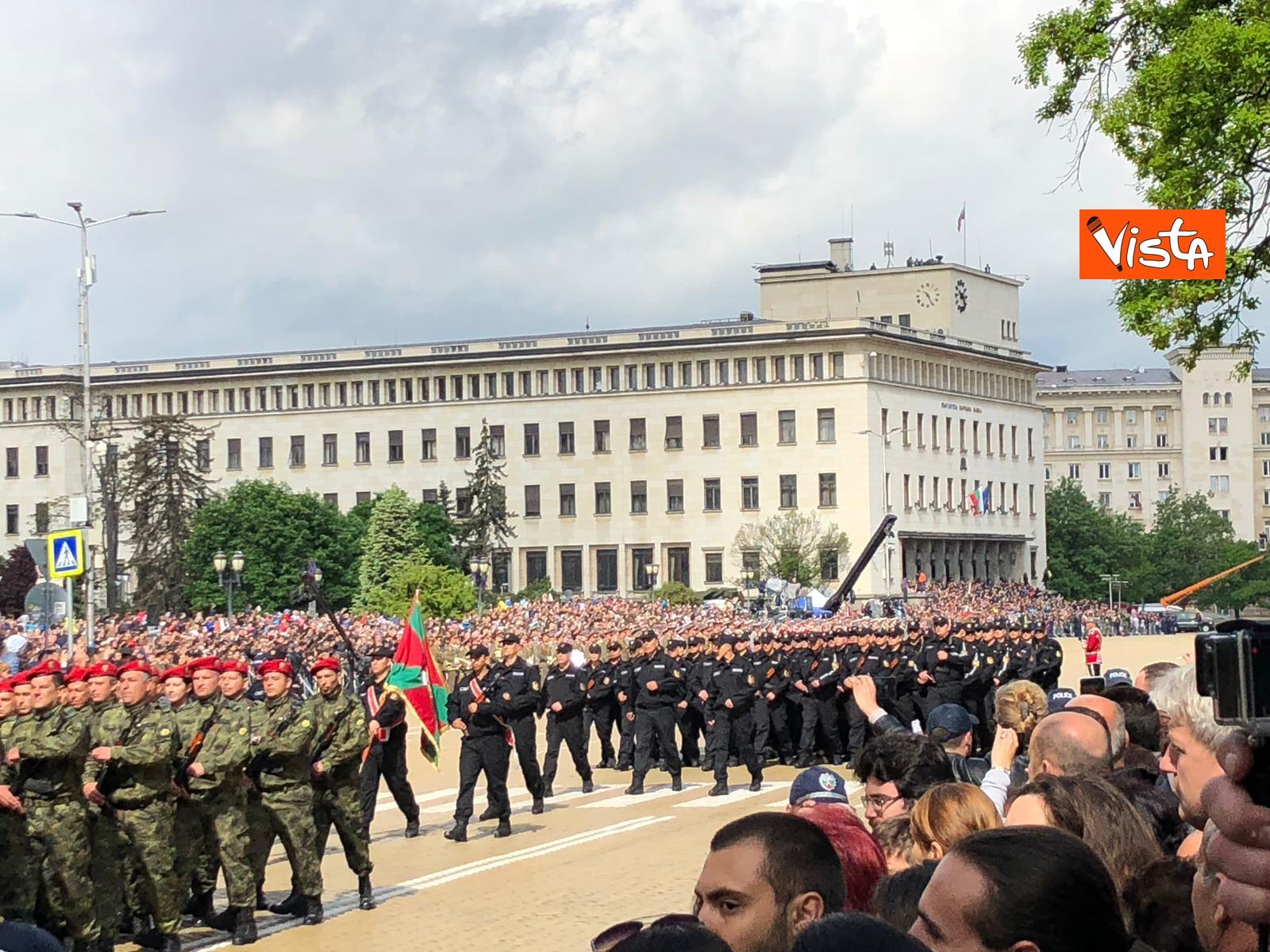 06-05-19 La parata militare a Sofia per la festa dell esercito in occasione di San Giorgio_05