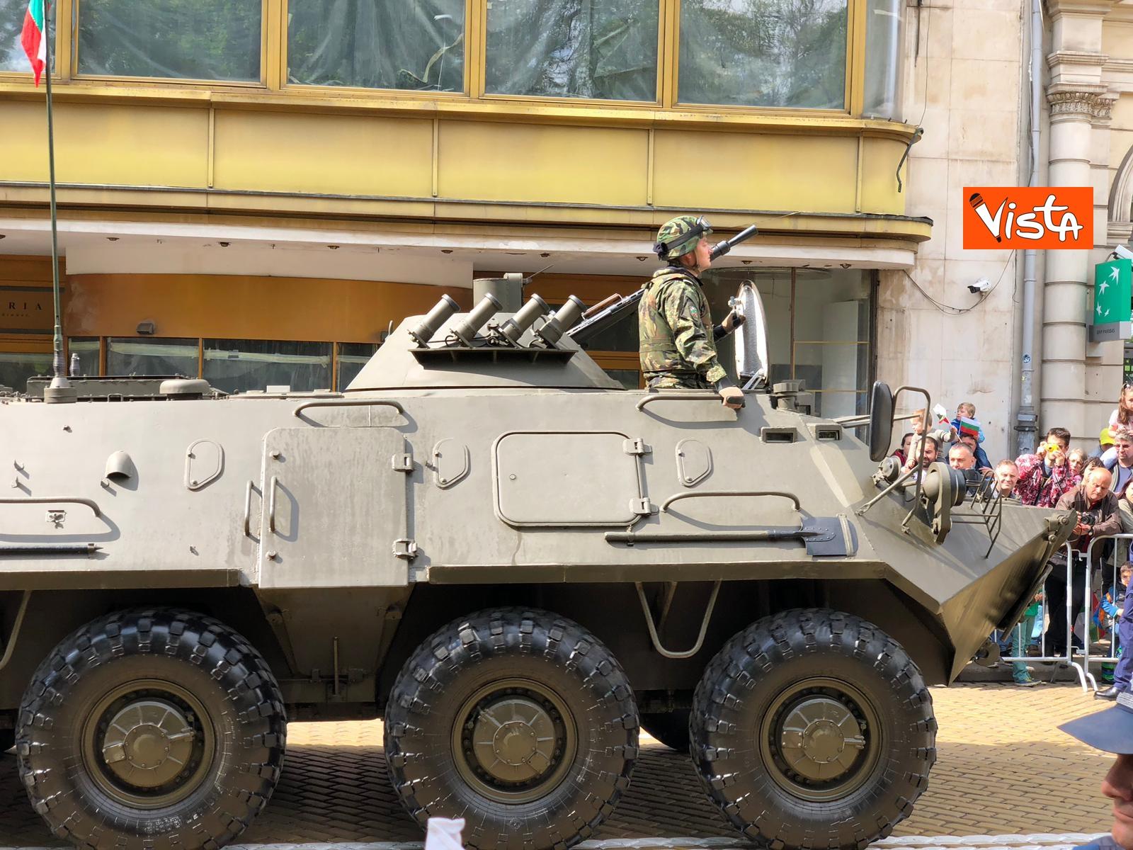 06-05-19 La parata militare a Sofia per la festa dell esercito in occasione di San Giorgio_08