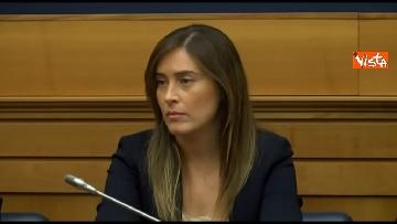 9 - Tragedia Erasmus Spagna, Renzi e Boschi  in conferenza con familiari vittime, immagini